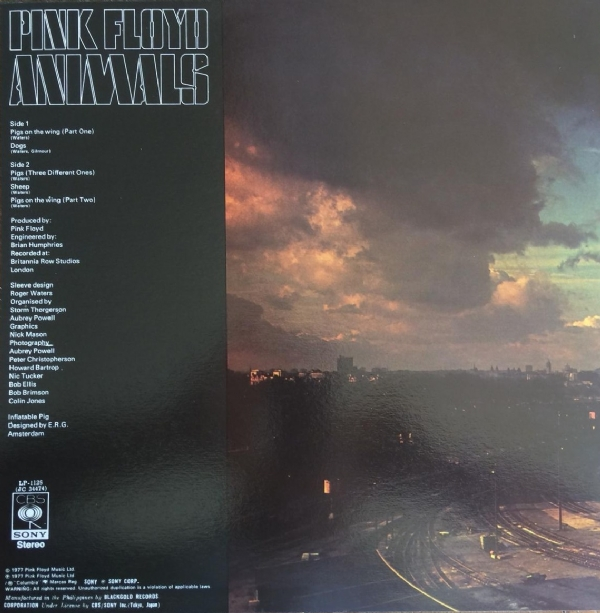 DISCO DE VINIL NOVO - PINK FLOYD - ANIMALS LP COLORIDO IMG-1417436