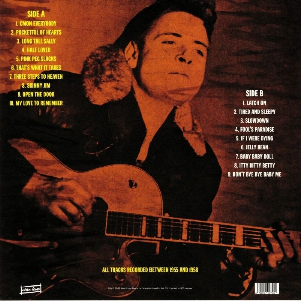 DISCO DE VINIL NOVO - EDDIE COCHRAN - FOOL´S PARADISE: EARLY AND RARE EDDIE LP 180 G IMG-1309984