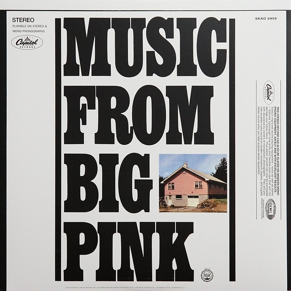 DISCO DE VINIL NOVO - THE BAND - MUSIC FROM BIG PINK LP 180 G IMG-1362866