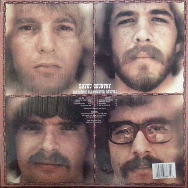 DISCO DE VINIL NOVO - CREEDENCE CLEARWATER REVIVAL - BAYOU COUNTRY LP IMG-1449929
