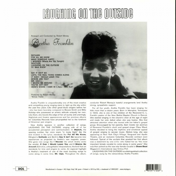 DISCO DE VINIL NOVO - ARETHA FRANKLIN - LAUGHING ON THE OUTSIDE LP 180 G IMG-1390301