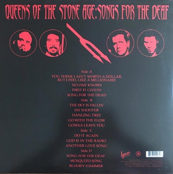 Disco de vinil novo - Queens Of The Stone Age - Songs For The Deaf LP duplo IMG-1732083