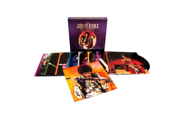 DISCO DE VINIL NOVO - THE JIMI HENDRIX EXPERIENCE - THE JIMI HENDRIX EXPERIENCE BOX SET 08 LP 180 G IMG-1420427