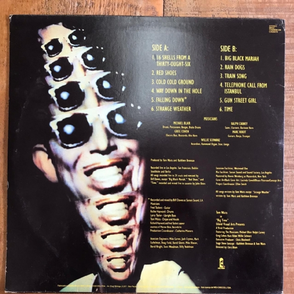 DISCO DE VINIL USADO - TOM WAITS - BIG TIME LP IMG-1553372