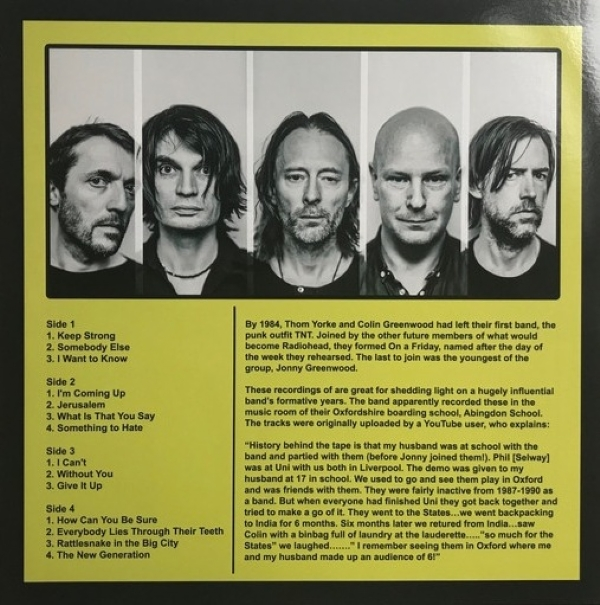DISCO DE VINIL NOVO - RADIOHEAD - ON A FRIDAY DEMOS LP DUPLO 180 G COLORIDO IMG-1554250
