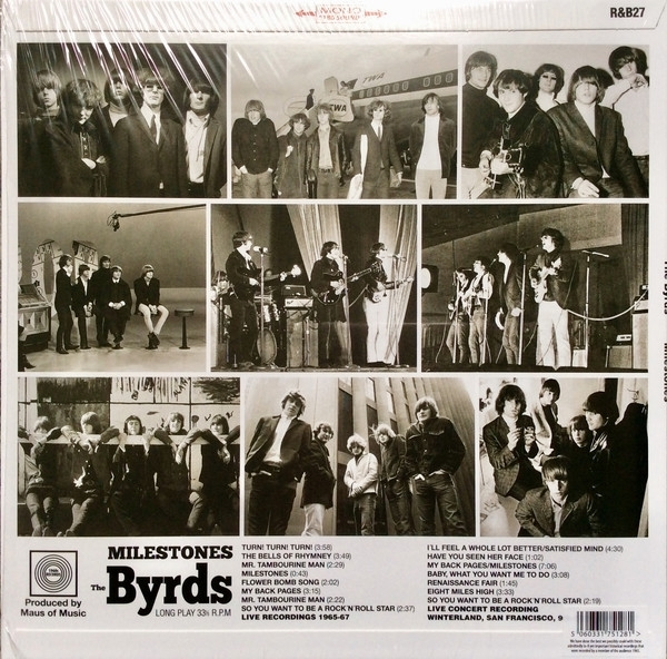 Disco de vinil novo - The Byrds - Milestones LP 180 g IMG-1581717