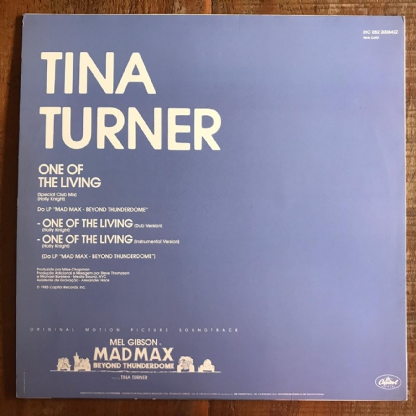 Disco de vinil usado - Tina turner - One Of The Living LP IMG-1602893