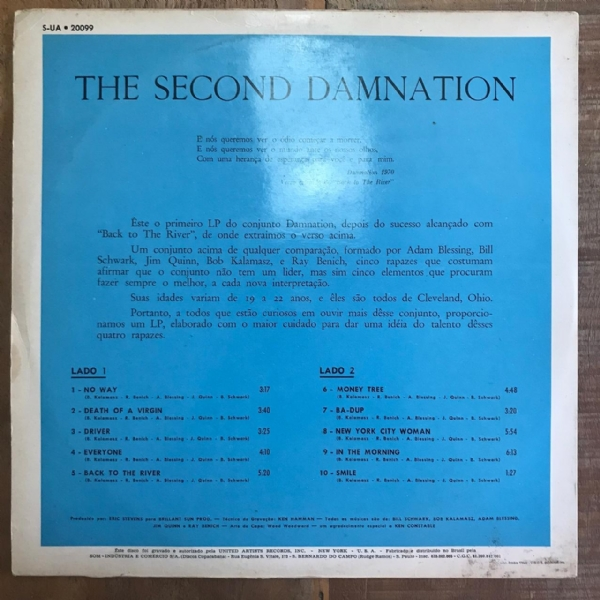 Disco de vinil usado - Damnation Of Adam Blessing - The Second Damnation LP IMG-1610096
