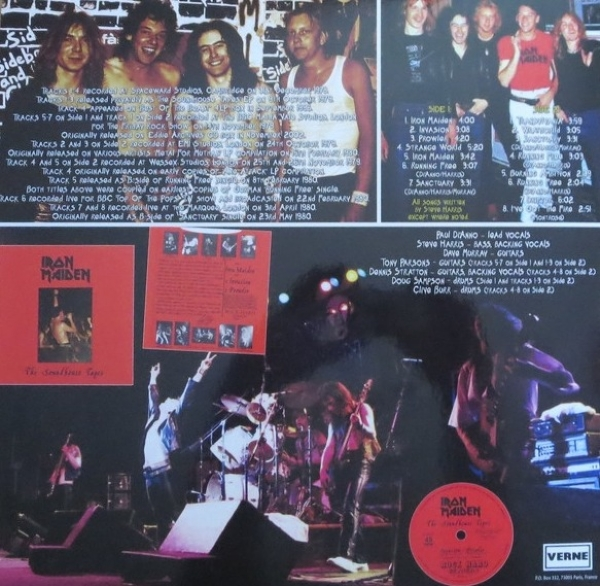 Disco de vinil novo - Iron Maiden - The Soundhouse Tapes EP And More Rare Early Tracks 1981 LP 180 g IMG-1636900
