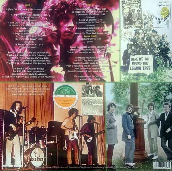 Disco de vinil novo - The Idle Race - BBC Radio Sessions 1967-1969 LP 180 g IMG-1636942