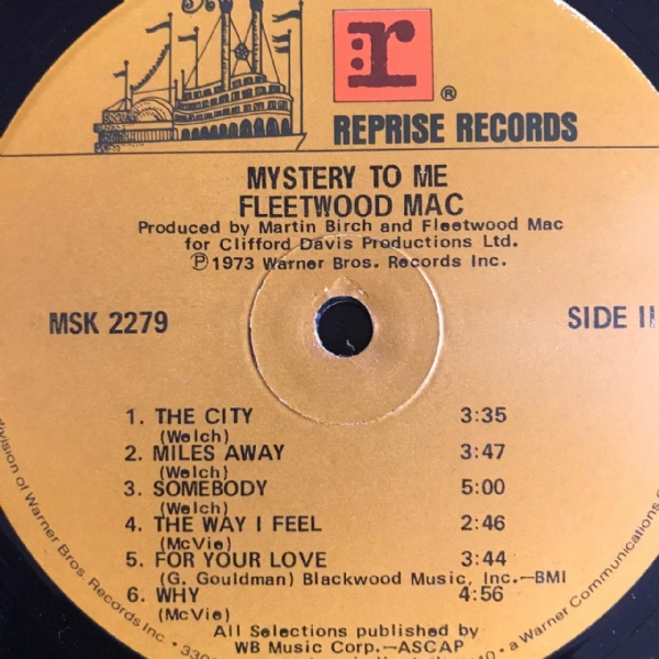 Disco de vinil usado - Fleetwood Mac - Mystery To Me LP IMG-1640710