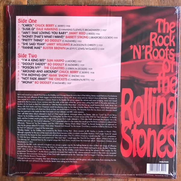 Disco de vinil usado - The Rock`N`Roots Of - The Rolling Stones LP 180 g IMG-1640743