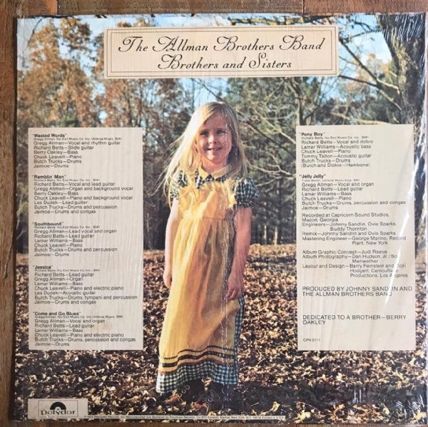 Disco de vinil usado - The Allman Brothers Band - Brothers And Sisters LP IMG-1647923
