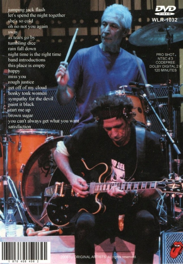 DVD - The Rolling Stones - A Bigger Bang Live In Tokyo IMG-1647916