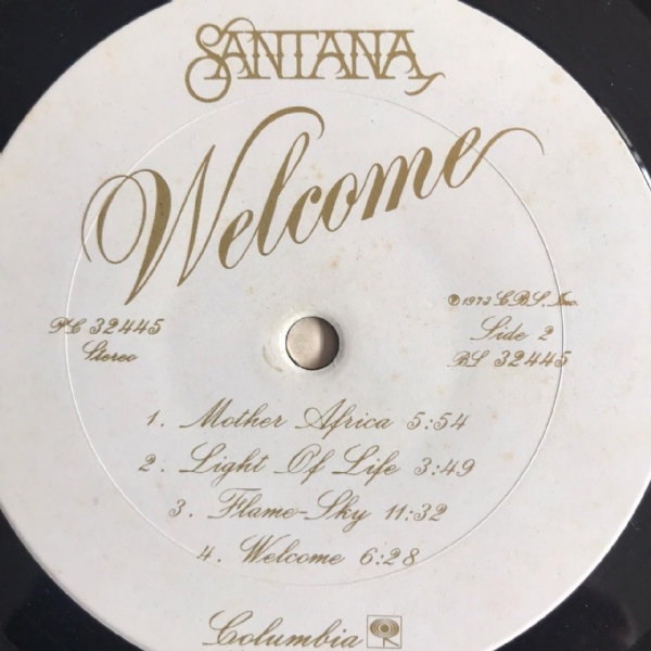Disco de vinil usado - Santana - Welcome Lp IMG-1658544