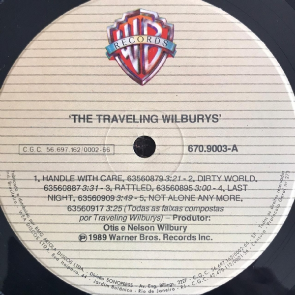 Disco de vinil usado - The Traveling Wilburys - Volume One Lp IMG-1658555