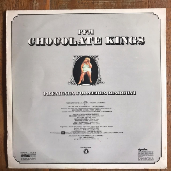Disco de vinil usado - Premiata Forneria Marconi - Chocolate Kings Lp IMG-1661471