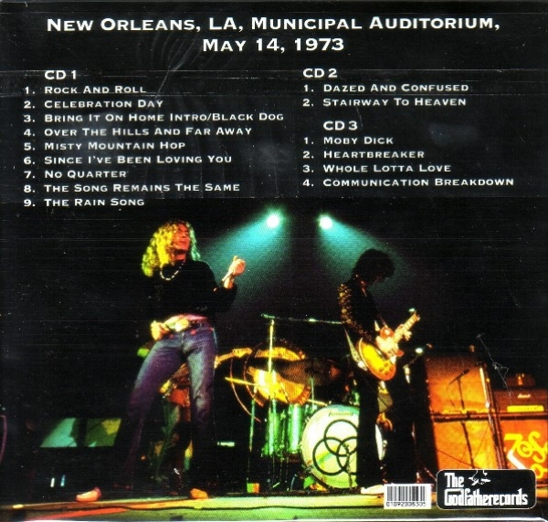 CD usado - Led Zeppelin - The Drag Queen Of New Orleans CD triplo IMG-1665972