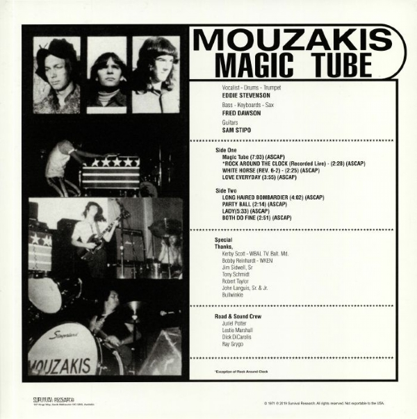 Disco De Vinil Novo - Mouzakis - Magic Tube Lp 180g IMG-1680686