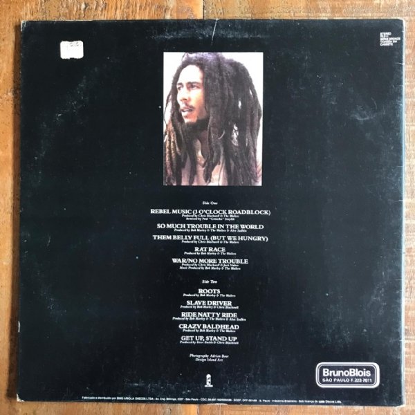 Disco de vinil usado - Bob Marley And The Wailers - Rebel Music Lp IMG-1682131