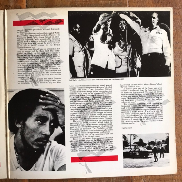 Disco de vinil usado - Bob Marley And The Wailers - Rebel Music Lp IMG-1682132