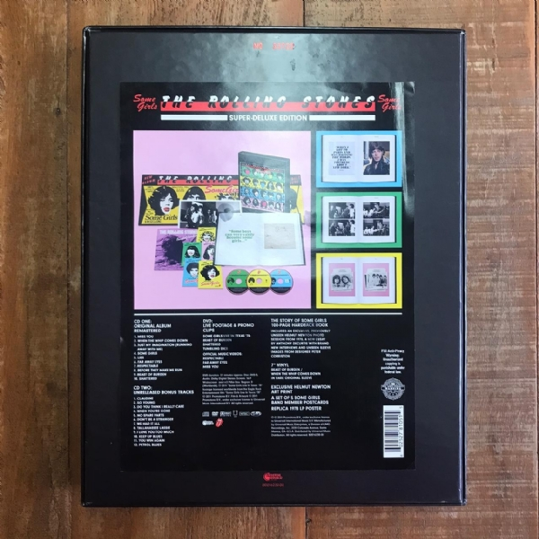 CD usado - The Rolling Stones - Some Girls - Super Deluxe Edition 2 CD 1 DVD Box Set IMG-1696170