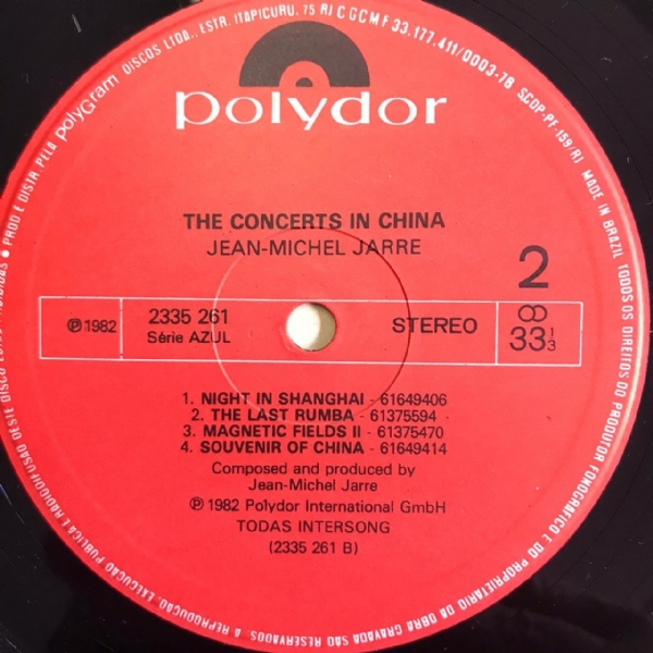 Disco de vinil usado - Keith Jarret - The Concerts In China Lp Duplo IMG-1732486