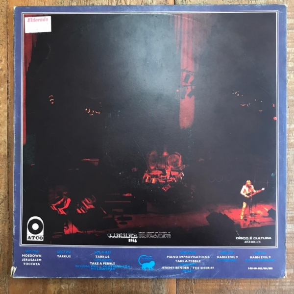 Disco de vinil usado - Emerson, Lake & Palmer - Welcome Back My Friends To The Show That Never Ends Lp Triplo IMG-1700908