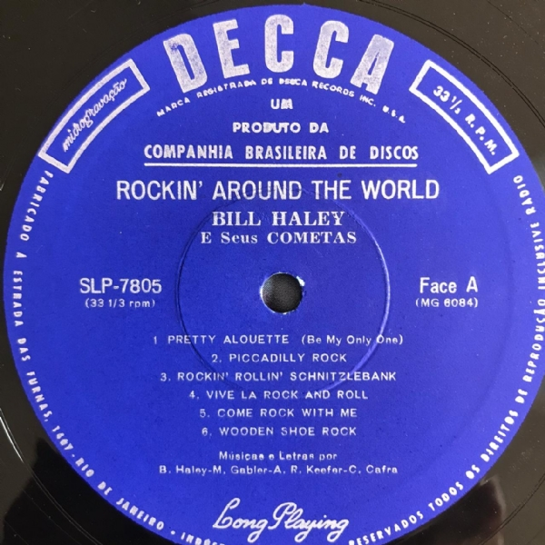 Disco De Vinil Usado - Bill Haley E Seus Cometas - Rockin´Around The World Lp IMG-1706661