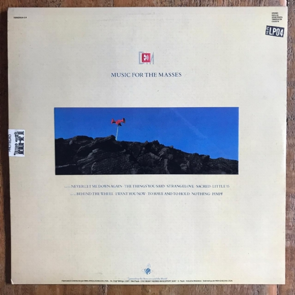 Disco de vinil usado - Depeche Mode - Music For The Masses Lp IMG-1710933