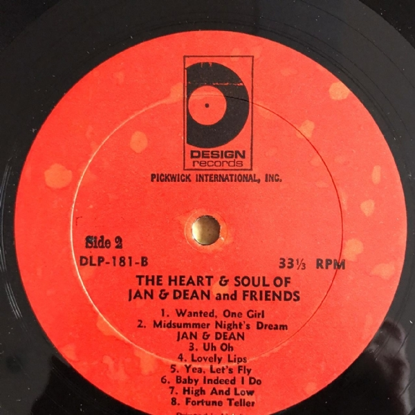 Disco de vinil usado - Jan & Dean - The Heart & Soul Of Lp IMG-1711978