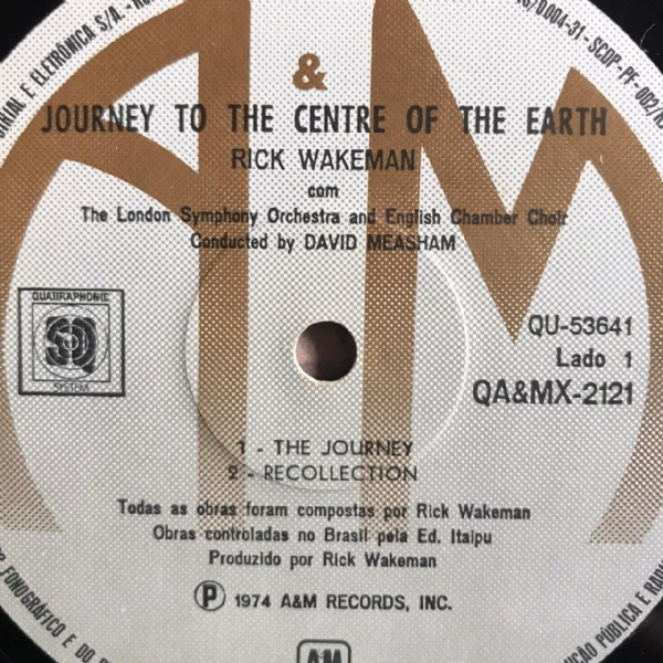 Disco de vinil usado - Rick Wakeman - Journey To The Centre Of The Earth Lp IMG-1712135