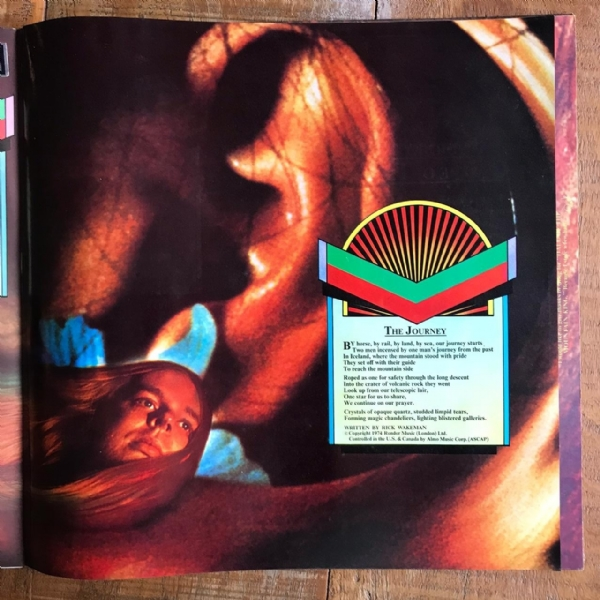 Disco de vinil usado - Rick Wakeman - Journey To The Centre Of The Earth Lp IMG-1712137