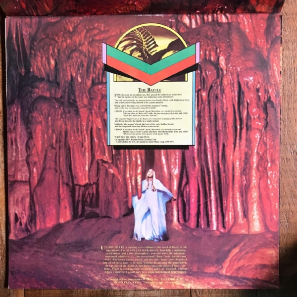 Disco de vinil usado - Rick Wakeman - Journey To The Centre Of The Earth Lp IMG-1712138
