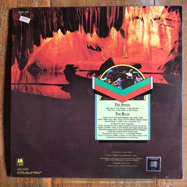 Disco de vinil usado - Rick Wakeman - Journey To The Centre Of The Earth Lp IMG-1712139