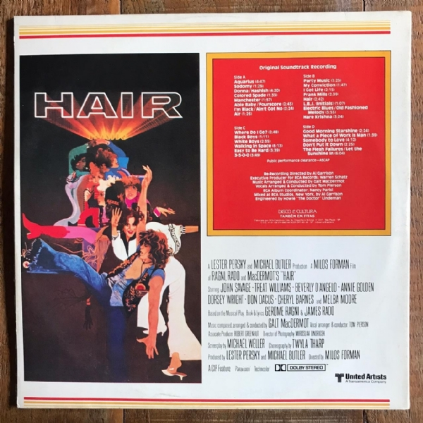 Disco de vinil usado - Hair - Trilha Sonora Original Do Filme Lp Duplo IMG-1712151