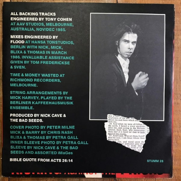 Disco De Vinil Usado - Nick Cave & The Bad Seeds - Kicking Against The Pricks Lp IMG-1712593