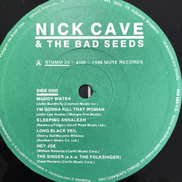 Disco De Vinil Usado - Nick Cave & The Bad Seeds - Kicking Against The Pricks Lp IMG-1712594