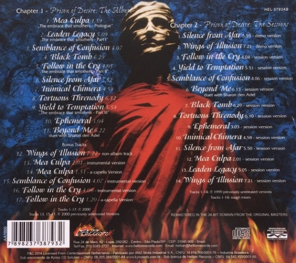 CD - After Forever - Prison Of Desire Cd Duplo IMG-1716471