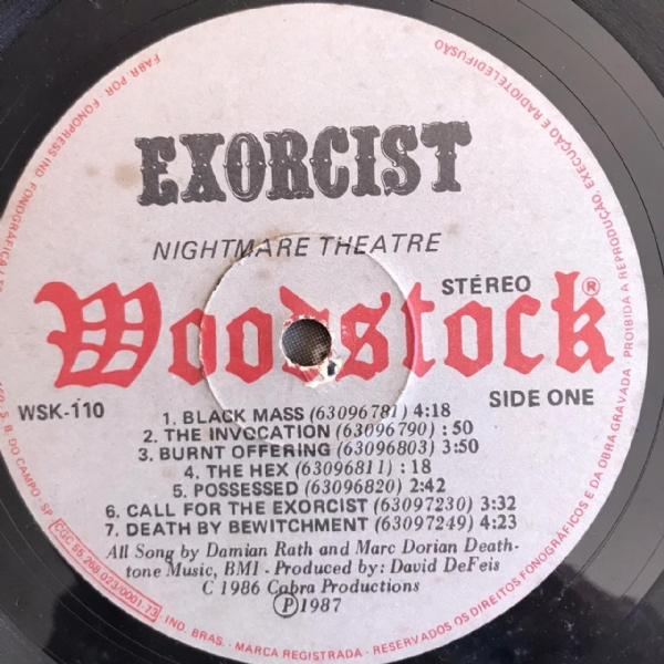 Disco de vinil usado - Exorcist - Nightmare Theatre Lp IMG-1736944