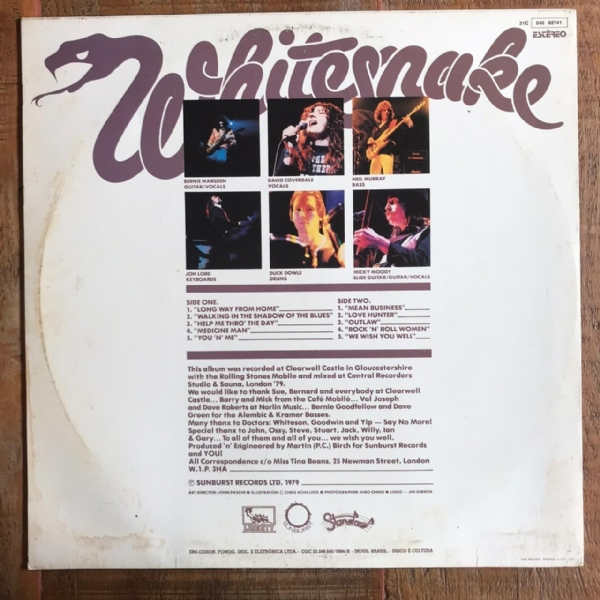 Disco de vinil usado - Whitesnake - Lovehunter Lp IMG-1746915