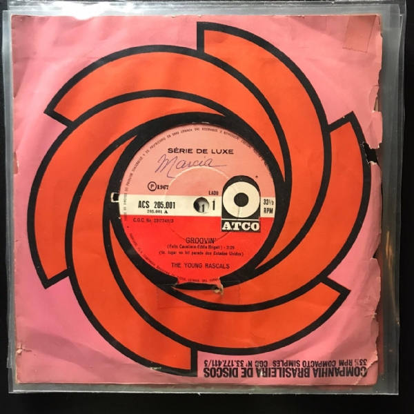 Single De Vinil Usado - The Young Rascals - Lote 2 Singles IMG-1763629