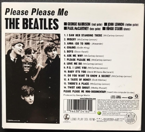 CD usado - The Beatles - Please Please Me Enhanced CD IMG-1771201