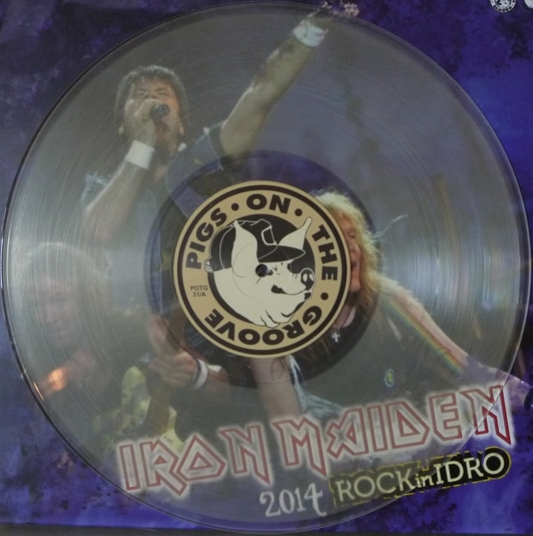 Disco De Vinil Novo - Iron Maiden - 2014 Rock In Idro Lp Duplo Colorido IMG-1779415