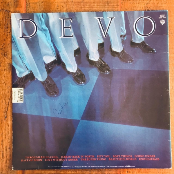 Disco De Vinil Usado - Devo - New traditionalists Lp IMG-1782606