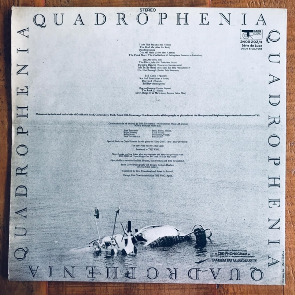 Disco de vinil usado - The Who - Quadrophenia Lp Duplo IMG-1794099