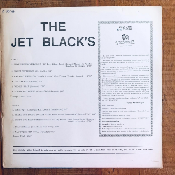 Disco De Vinil Usado - The Jet Blacks - The Jet Black´s Lp IMG-1794453