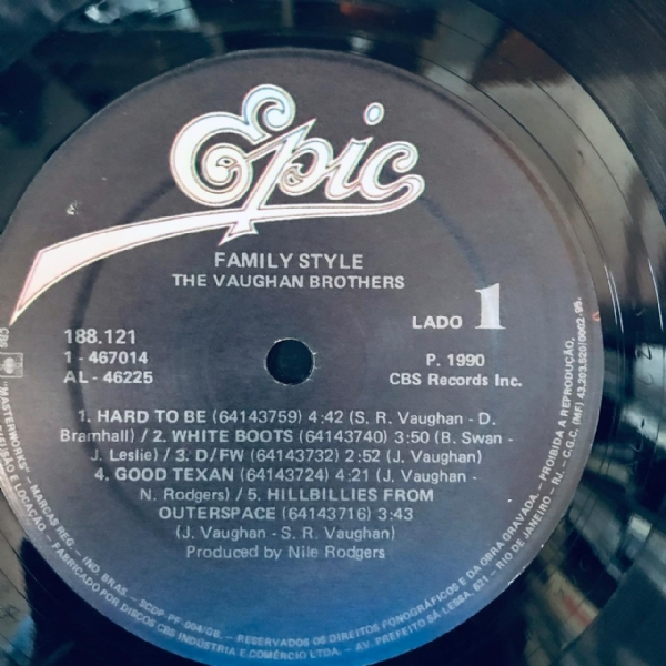 Disco De Vinil Usado - The Vaughan Brothers - Family Style Lp IMG-1801879