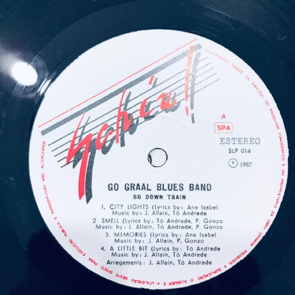 Disco De Vinil Usado - Go Graal Blues Band - So Down Train Lp IMG-1804048