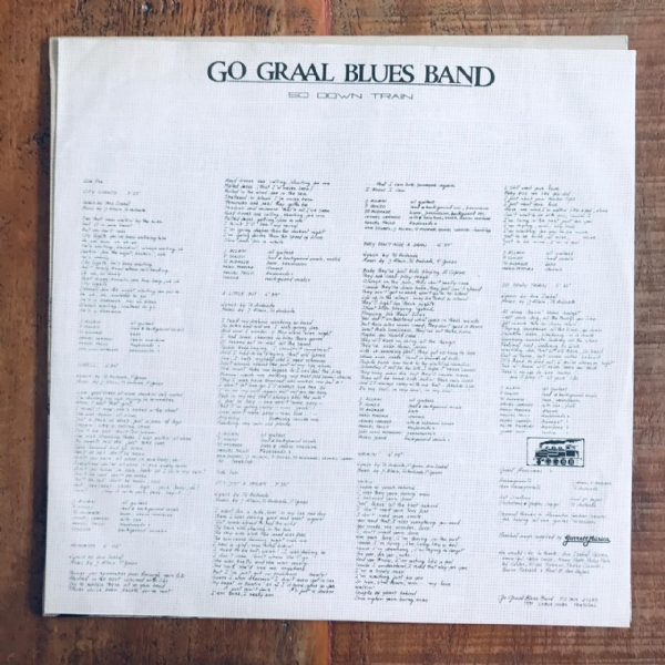 Disco De Vinil Usado - Go Graal Blues Band - So Down Train Lp IMG-1804049